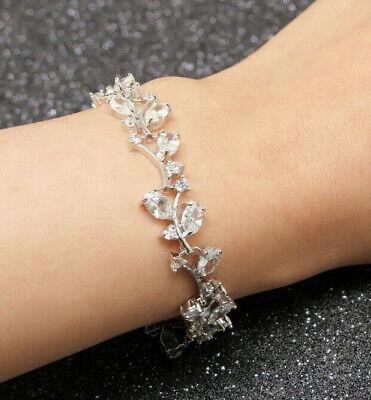 Diamond Tennis Bracelet in 18k White Gold Finish For Women 1.00 Carat