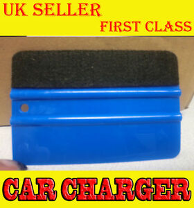 PRO-Felt-Edge-Vinyl-Car-Van-Bike-Wrap-Wrapping-Squeegee-Application-Tool-Scraper