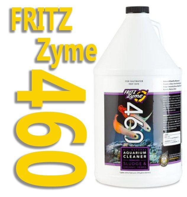 Fritzzyme 460 1g (gallon) Jug Saltwater Biological Aquari...