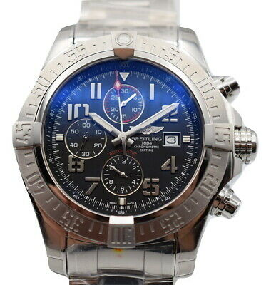 Breitling Super Avenger II Automatic Chronograph Watch 48mm A13371111B2A1