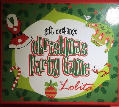 Lolita ~ Gift Exchange CHRISTMAS PARTY GAME ~ NEW!!!  C. R. Gibson ~ Hilarious!