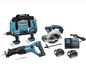 MAKITA 18V (3.0 Ah) LXT 5 Tool Set