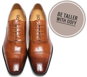 Soyez plus grand avec des chaussures OOFY pour les hommes qui augmentent la taille