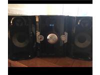 Panasonic stereo sound system
