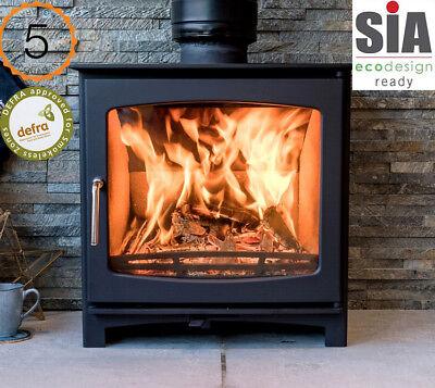 Defra Approved 5kw Eco Design Ready (2022) Slimline Woodburning Stove Stoves