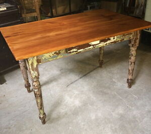 greenspotantiques tables, rustic harvest table, occasional table Cambridge Kitchener Area image 1