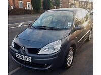 2008 mpv Family Spacious big car Renault scenic lovely car