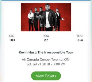 Kevin hart, July 21st 7:30pm