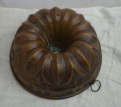 alte Kupfer Backform Kupferbackform Nr. 2705/1