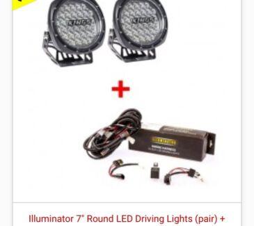 7inch led spot lights/ driving lights
