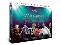 Great Matches of European Football DVD set