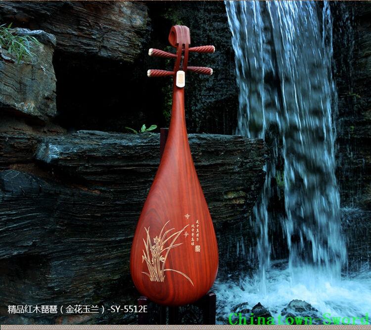 Chinese Soprano Pipa Lute Guitar Shengyue Liuqin - Musical Instrument #4130