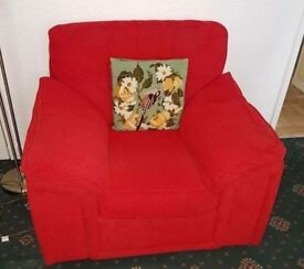 Sofa and arm chair can deliver