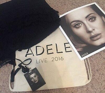 Exclusive Adele 2016 VIP Tour Package Memorabilia Bag And Blanket