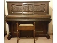 Vintage Ernest Crichton Piano - Collection only