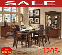 Model 1205-72 7pc, dining sets