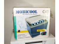 Mobicool C40 Portable fridge / cooler. Ideal for parties, functions, barbq's and pop up events.