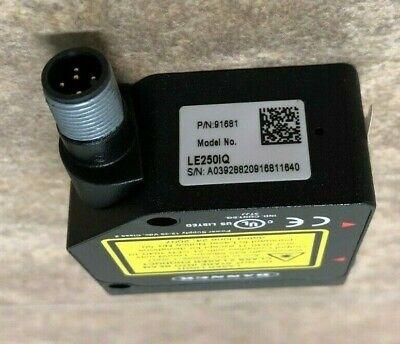 Banner Engineering Le250iq Laser Displacement Sensor