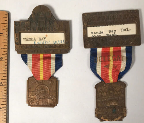 Veterans of Foreign Wars 39th & 40th National Encampment Medals