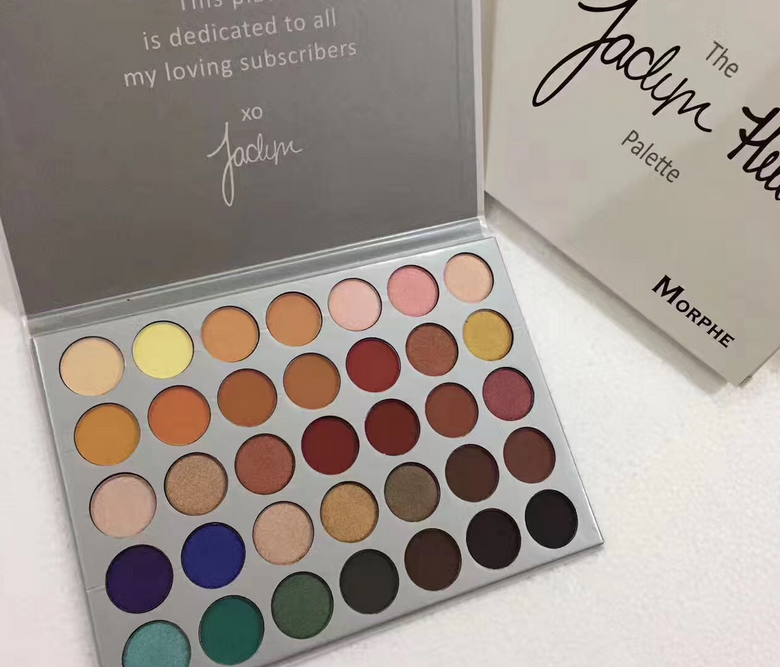 Morphe Limited Edition Jaclyn Hill x Morphe 35 Colors Eye shadow Palette 2019
