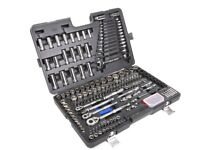 Barely Used 200 Piece Socket and Ratchet Spanner Set