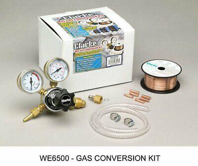 Clarke We6500 Mig Welding Argon Regulator Start Up Kit W Wire Hose Adaptor Tip