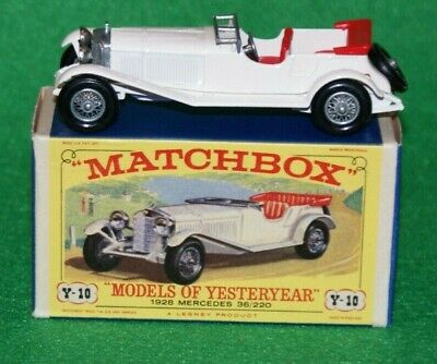 Matchbox Models of Yesteryear 1928 Mercedes 36/220 Issue 3 MOY Y10-1 D3 Box