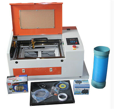 50w Co2 Laser Engraver Engraving Cutting Machine Electric Updown Table Usb Port