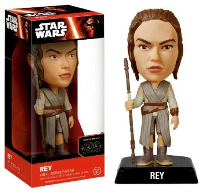 Star Wars - Rey - BOBBLE HEAD / WACKELKOPF / WOBBLER - The Force Awakens