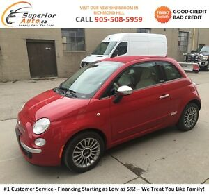 2012 Fiat 500c Convertible - LOW KM- Finance for $94 Bi-Weekly!