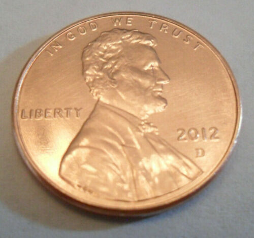 2012 D Lincoln Shield Cent / Penny  **FREE SHIPPING**