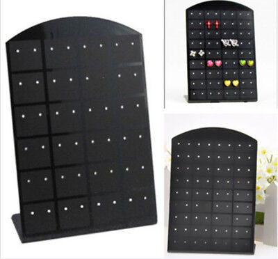 New 36 Pairs Jewelry Holder Organizer Earrings Display Stand 72 Pair D109 Hs7