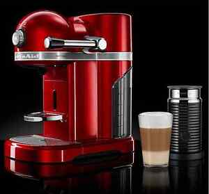Nespresso Artisan Coffee Machine with Aeroccino 3 Watsons Bay Eastern Suburbs Preview