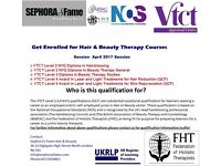 Hair and Beauty Courses- NVQ Level 2,3,4 (QCF)