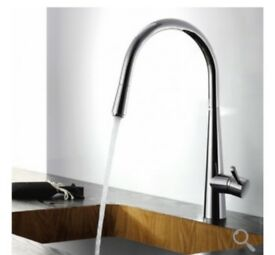 Pull out Spray Kitchen Tap. Brand New. Still in box. Paid £100, happy to sell for £80