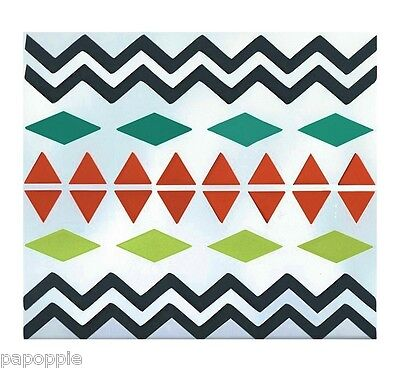 Stencil Aztec Tribal Apache Southwestern Pattern for Craft Projects Art
