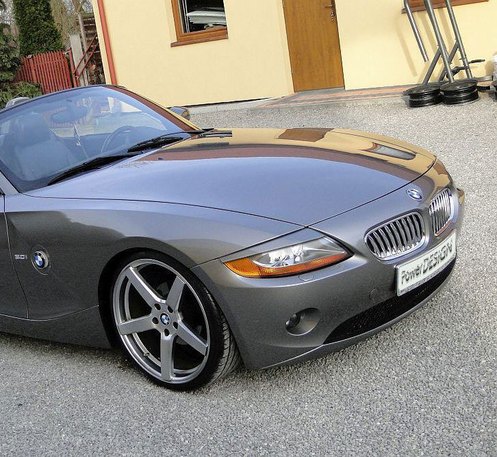 Bmw Z4 E85: EYEBROWS FOR BMW Z4 E85 / E86 2002-2008 Headlight Eyelids