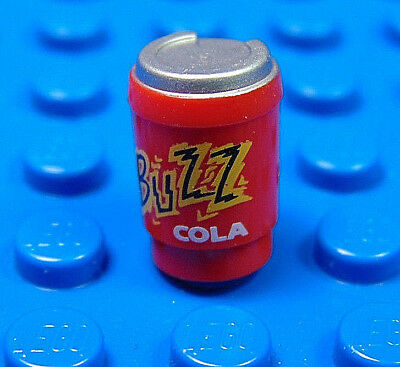 3 LEGO Buzz Cola Drink Can For Mini Figure Food Drink Accessory 15496pb03