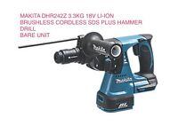 MAKITA SDS PLUS HAMMER DRILL - bare unit