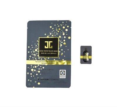JAYJUN Korean Facial Sheet Mask - Gold Snow Black Mask 1*25ml mask + 1*1ml serum