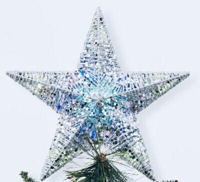 Wondershop Led 20 Lights Silver CHRISTMAS Tree Topper