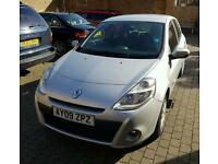 2009 RENAULT CLIO EXPRESSION 1.2 (AC) HPI CLEAR*LOW MILEAGE*QUICK SALE* NOT POLO CORSA FIESTA GOLF