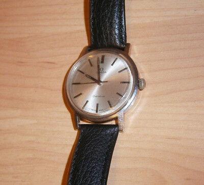Omega,klassische Herrenuhr,Handaufzug,ca.1960,34 mm,top! ()
