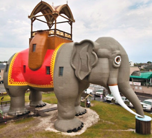 @ 5 tickets for Margate Atlantic City Lucy Elephant attraction