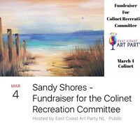 Let's Get Craftin - East Coast Art Party - Colinet S.M.B