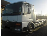 98 MERCEDES ATEGO RECOVERY LORRY / TRANSPORTER . NEWRY / ARMAGH