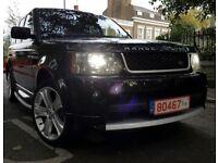 Range Rover sport 2011 new shape face lift quick sale