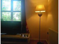 Wicker Heart Floor Lamp. (Homebase)