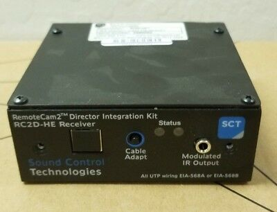New Sound Control Technologies Remote Cam2 Director Integration Module Rc2d-he