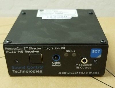 Sound Control Technologies Remote Cam2 Director Integration Module Rc2d-he